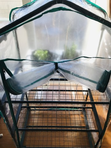 ビニール温室棚3段